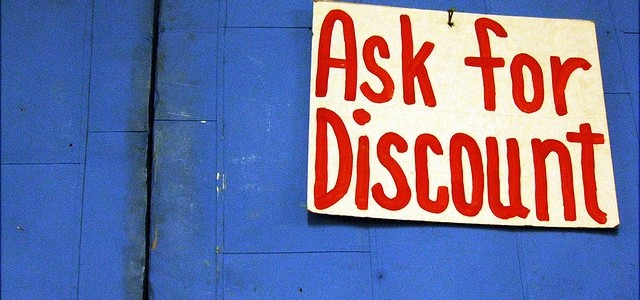 The Art of Asking for a Discount